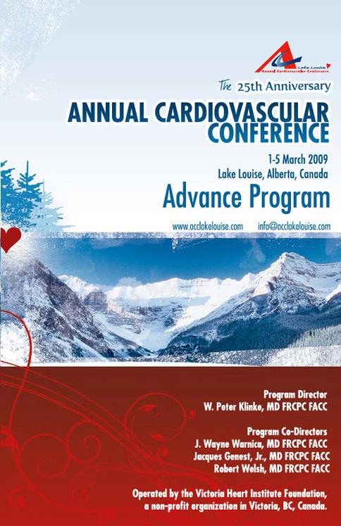 Advance Program Cover