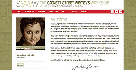 The Sackett Street Writer's Workshop